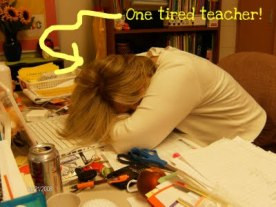 Image result for teacher exhausted