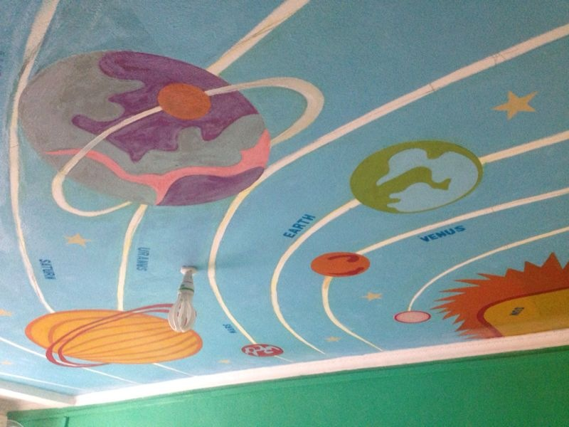 solar system on ceiling paint - photo #37