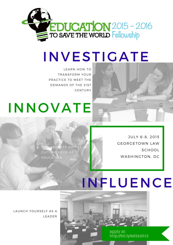 ed2save fellowship poster1